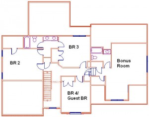 Second Floor Miller Plan
