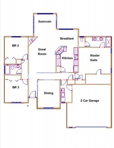 Willow Trace Floor Plan
