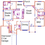 Plum Downstairs Floor Plan